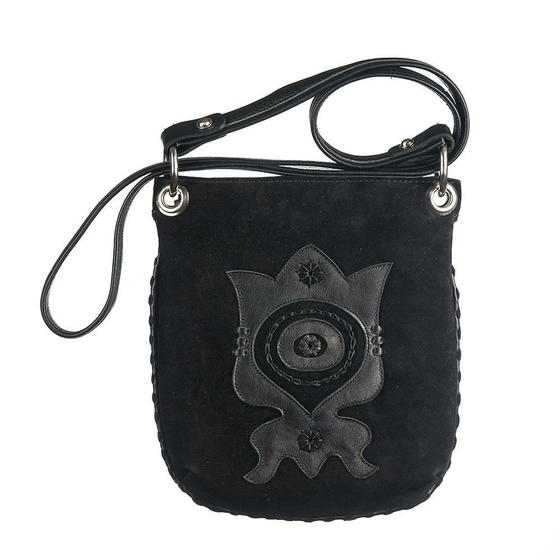 "Black leather bags ""Mexico"""